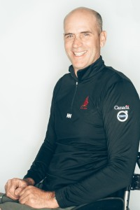 Canada's Sonar team skipper, Paul Tingley