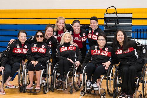 Wheelchair Basketball Canada RIO 2016 team announcment
