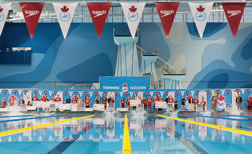 The Toronto Parapan Am Swimming Centre.