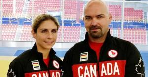 Gagné will head to Rio with veteran Canadian judoka Tony Walby. Photo: Canadian Paralympic Committee