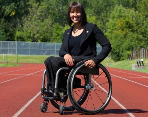 Rio 2016 Chef de Mission, Chantal Petitclerc.