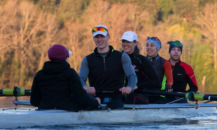 Canada's LTA Mixed Coxed Four Rowing team for the 2016 Paralympic Games.
