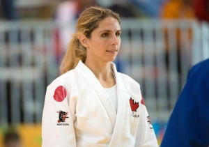 Gagné took up Judo at age 23 and is now gunning for a Paralympic medal. Photo: Dan Galbraith/Canadian Paralympic Committee