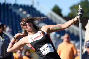 – Pamela LeJean is the top ranked women's F53 shot put thrower in the world.
