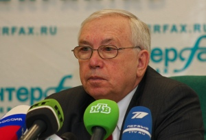 Russian Paralympic Committee president Vladimir Lukin
